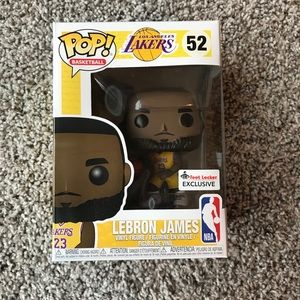Funko Pop Lebron James #52 FL Exclusive